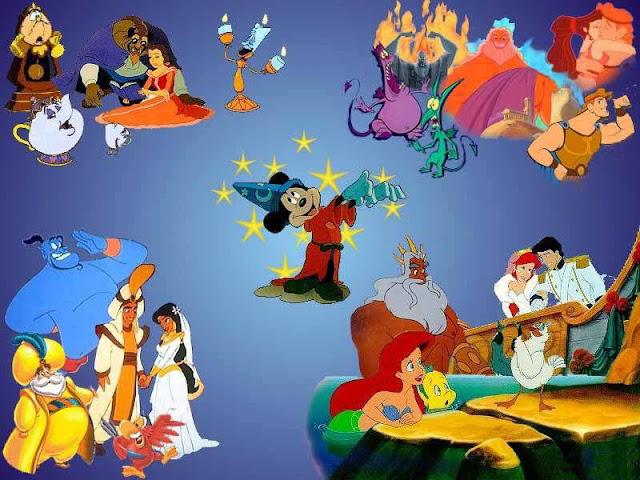 Disney Theme Wallpaper for Desktop