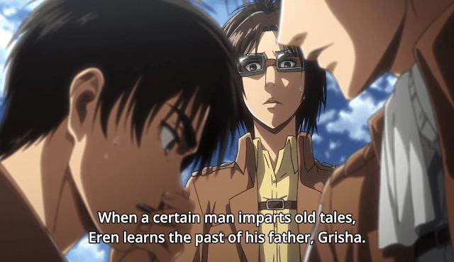 Eren, Levi and Hangi - Attack On Titan Season 3 Episode 11  Bystander