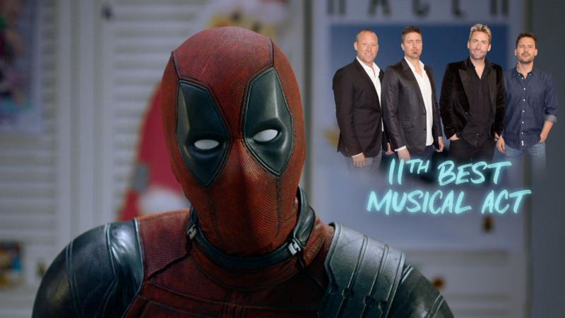 Nickelback Responds to Once Upon a Deadpool Trailer Shout-Out