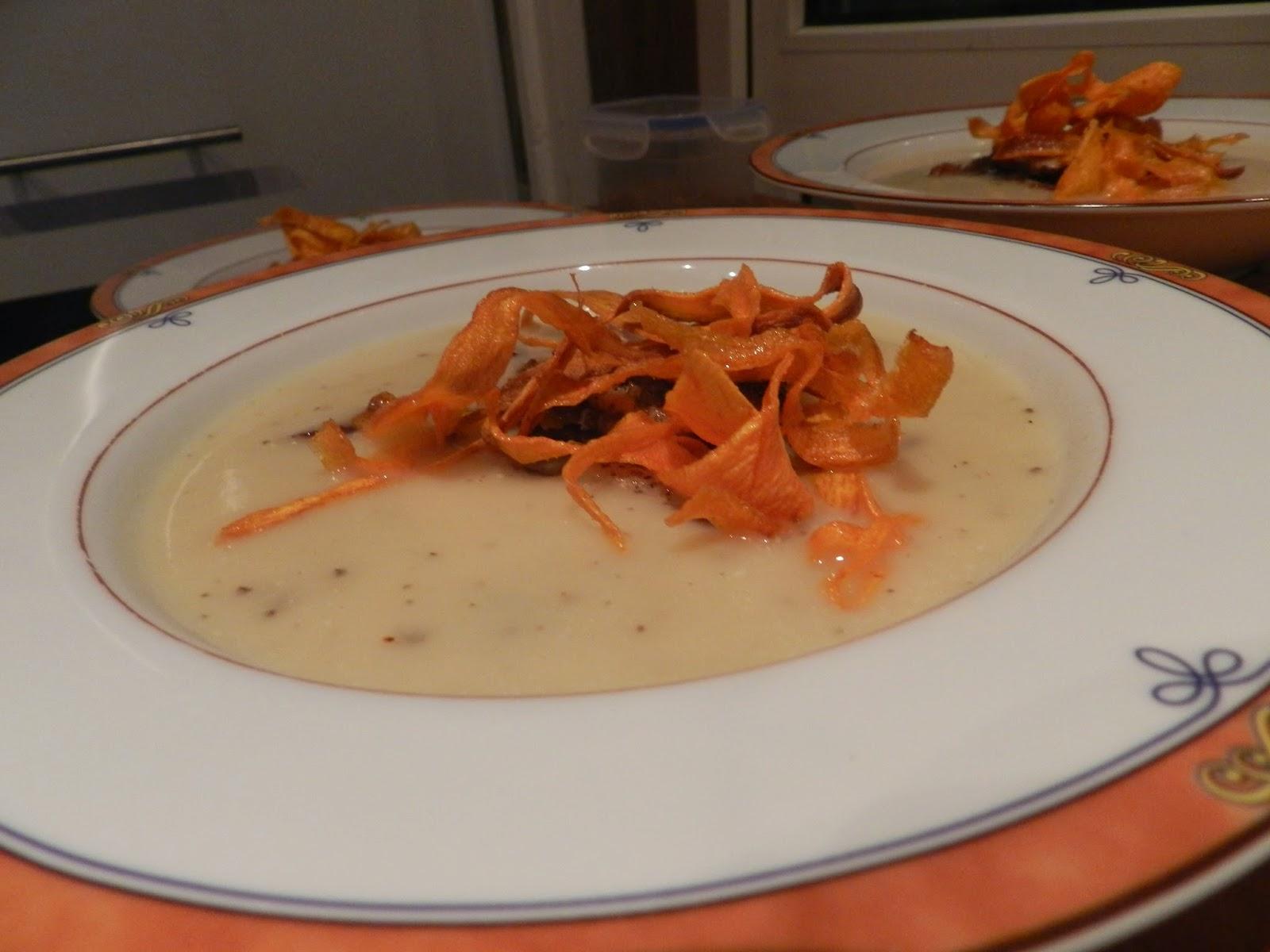 De simpele keuken pastinaak en knolselderij soep for Simpele keuken