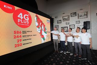 Indosat Ooredoo Makin Meluas Bersama Jaringan 4G Plus