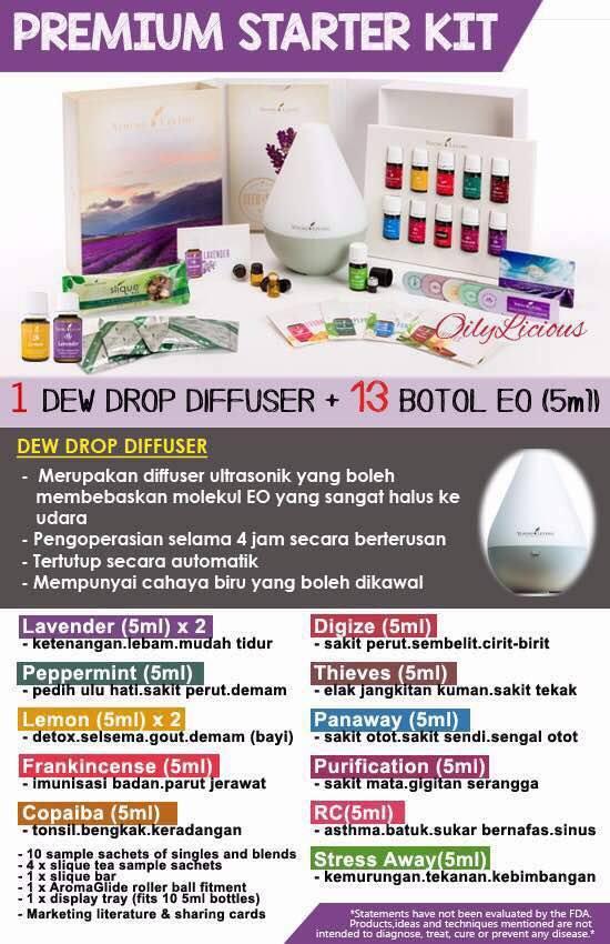 Kali Nih Saya Nak Share Beberapa Video Asas Tentang Starter Kit Young Living.  Untuk Malaysia Primium Starter Kit Adalah Seperti Di Dalam Poster Dibawah  Ini.