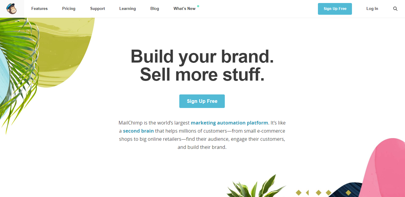 free eamil marketing tool mailchimp