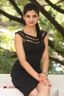 Actress Kamna Ranwat  Pictures in Black Short Dress at Selfie Raja Interview  0232.JPG