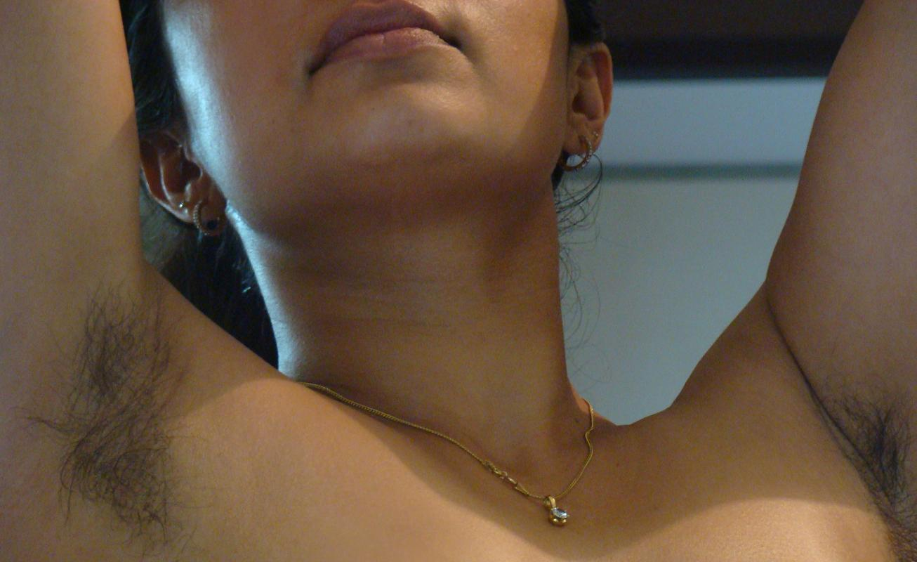 Desi girl hairy armpits