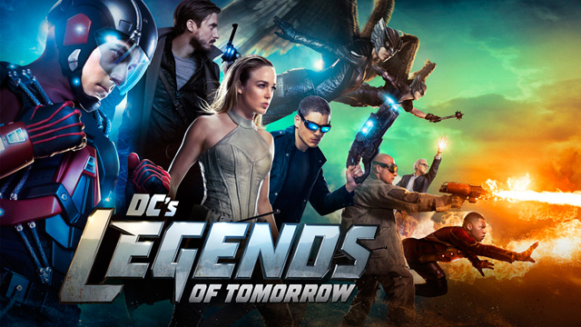 série legends of tomorrow