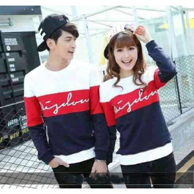 Jual Online Sweater Wisdom WR Murah Jakarta Bahan Babytery Terbaru