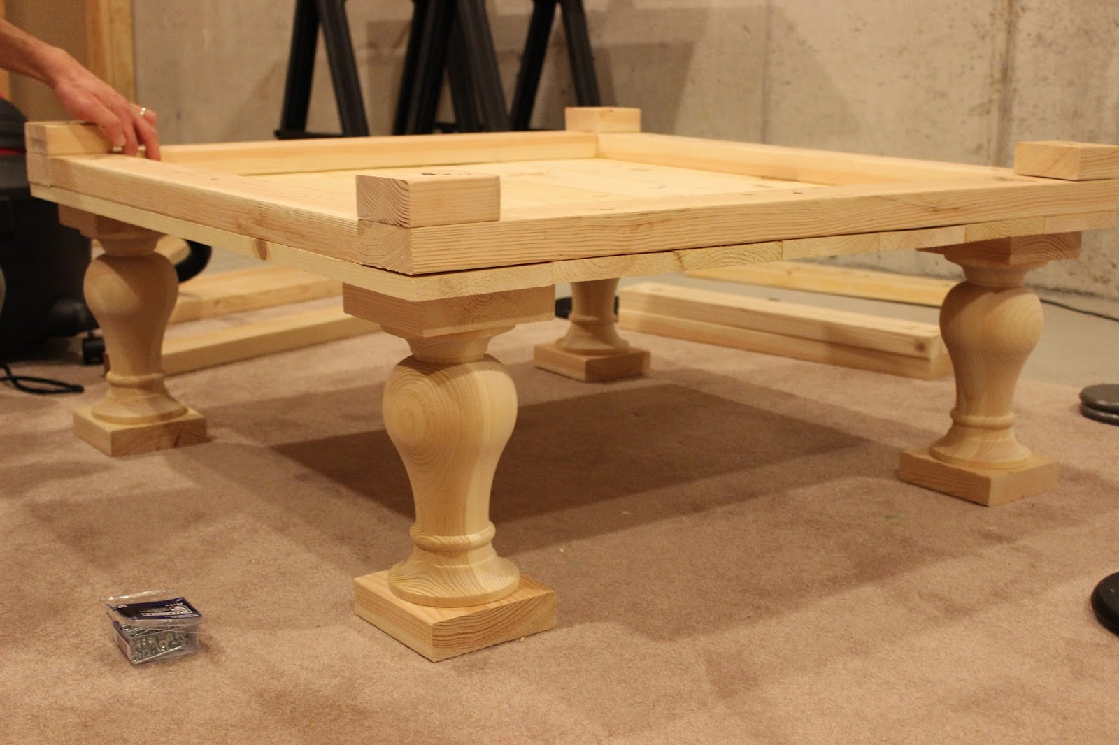 Fresh It's A Grandville Life : DIY Balustrade Coffee Table CV22