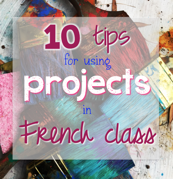 This blog post has great ideas for how to incorporate projects into your French class this year!  Click here to read these 10 great tips!