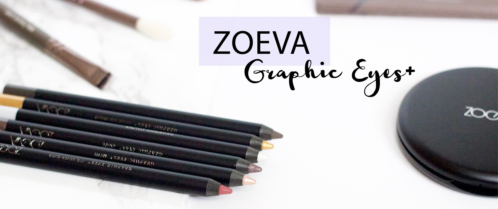 Zoeva Graphic Eyes Six New Shades* || FIRST IMPRESSION
