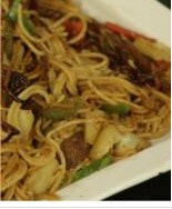 Sweet and Sour Beef Chow Mein1