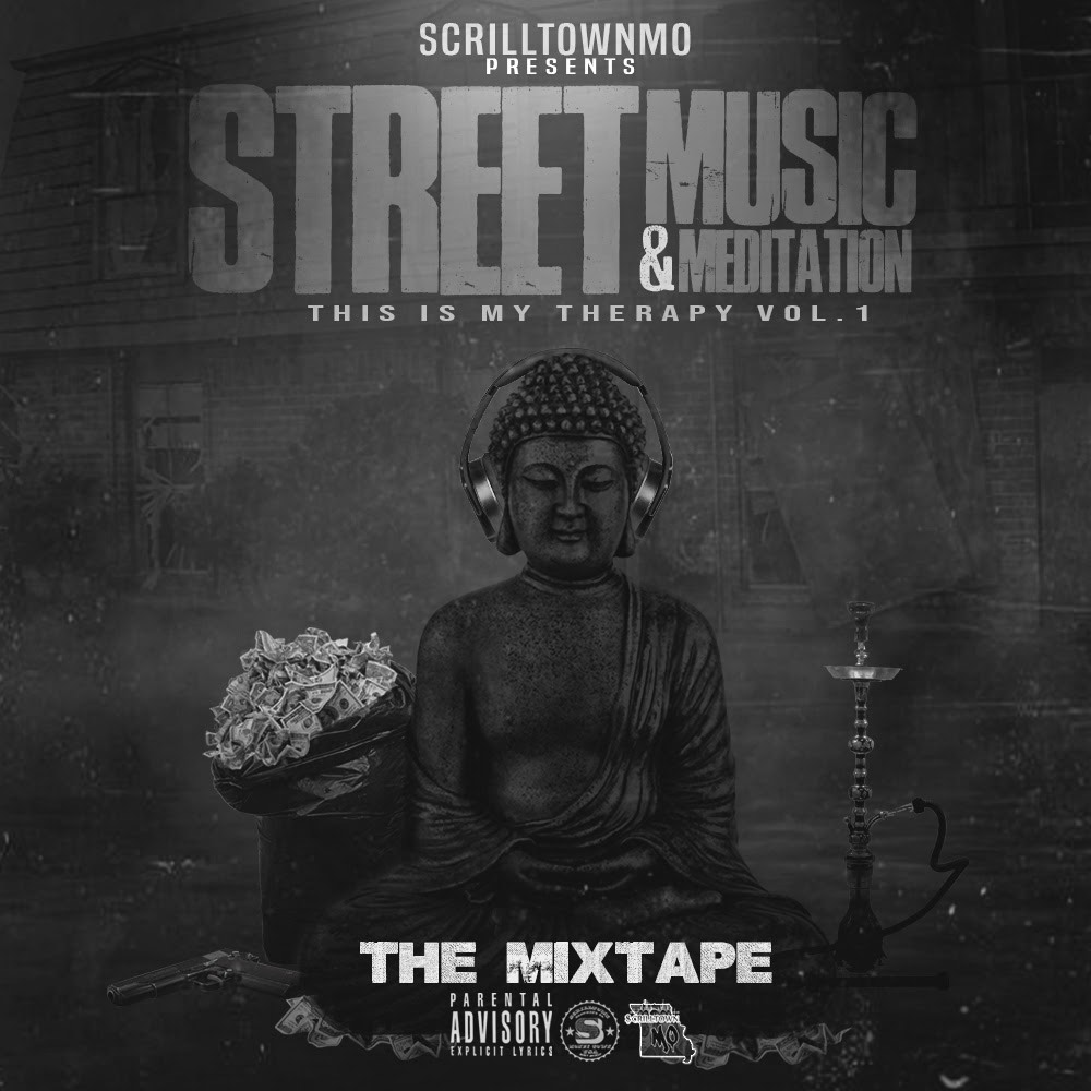 ScrilltownMO and Sony announce the release of Street Music & Meditation