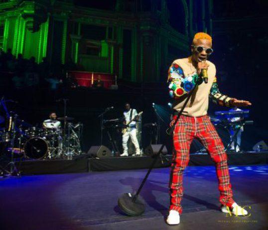 Wizkid Performing In Royal Albert Hall in London - TEELAMFORD.COM3