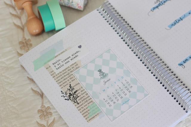 Hola, junio: planificación mensual del mes