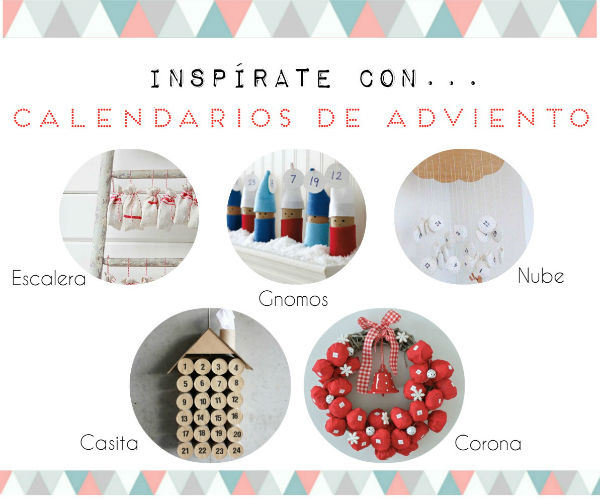 DIY: 5 calendarios de adviento