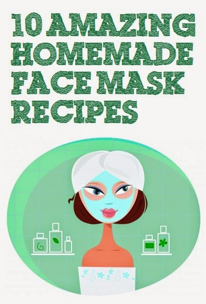 #Beauty : 10 Amazing Homemade Face Mask Recipes