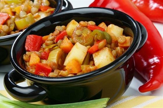 Как вкусно приготовить овощное рагу с курицей