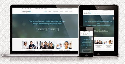 DestinyFX Responsive Corporate Joomla Template