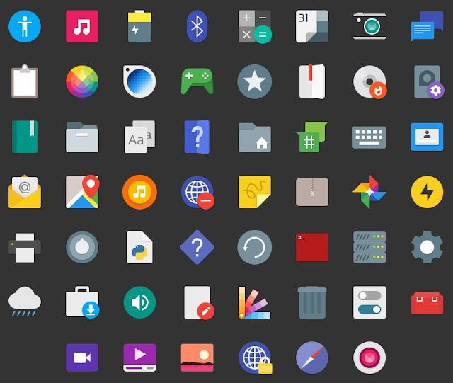 Paper Icon Theme