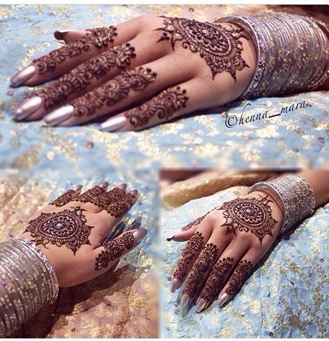 Indian Hand Bridal Mehendi