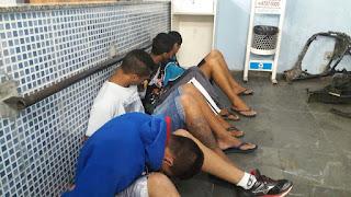 GCM de Jandira - Adolescentes são detidos com arma de fogo