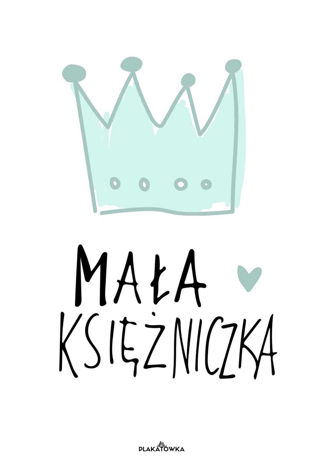 Mała Księżniczka I Mały Książę Plakaty Do Pobrania W 13