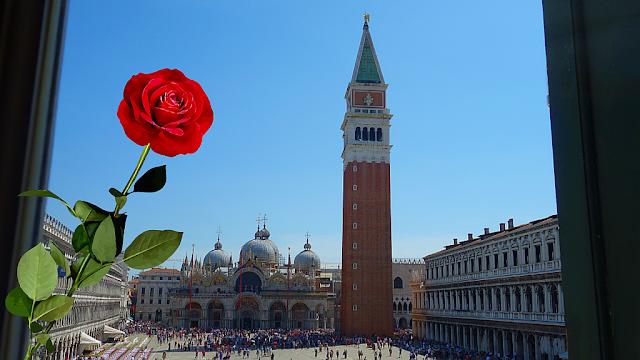Příběh velké benátské lásky s krutým koncem, festa del bocolo, festa san marco, 25. dubna