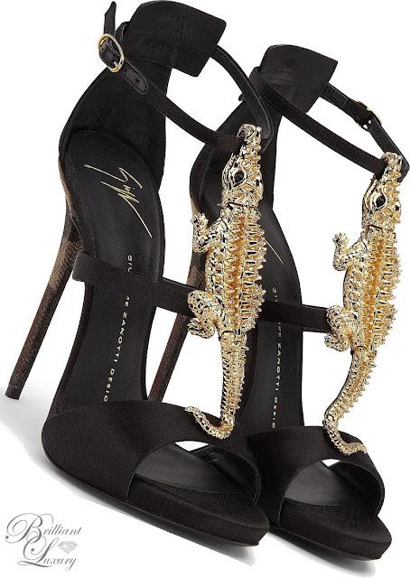 Brilliant Luxury ♦ Giuseppe Zanotti 'Crocodile'