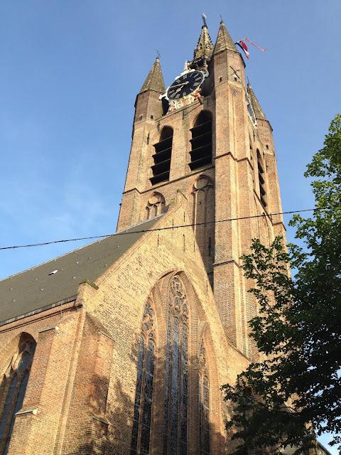 torre cuadrada en Delft