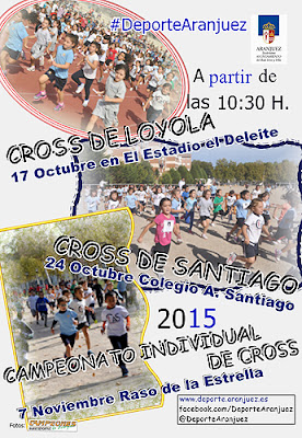 Cross Escolar Aranjuez
