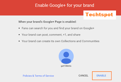 How To Create Google+ Brand Page 3