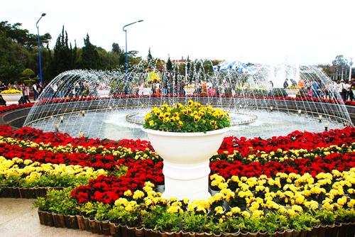 điểm du lịch vườn hoa thành phố đà lạt