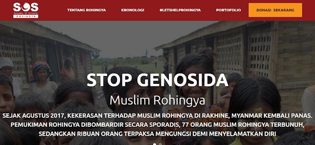 Symphaty Of Solidarity Rohingya: Stop Genosida Muslim Rohingya