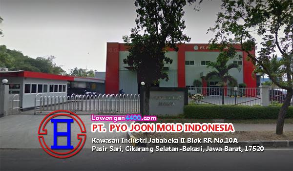 Lowongan Kerja PT. Pyo Joon Mold Indonesia Jababeka