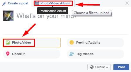 how to make facebook profile video on computer
