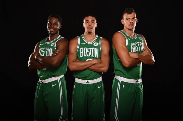 Celtics' rookies unveil new jerseys   CelticsLife.com ...