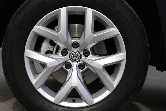 VW Amarok V6 2018 - Rodas de 19 polegadas
