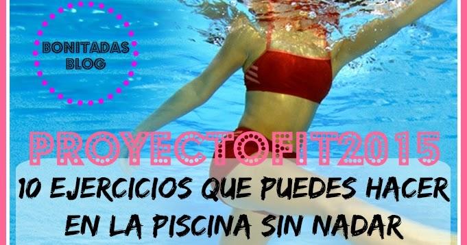 Proyectofit2015 diez ejercicios que puedes hacer en la for Ejercicios en la piscina