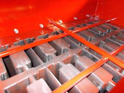 concrete block spare parts