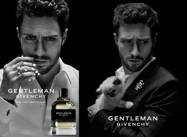 Reklama perfum Givenchy Gentleman