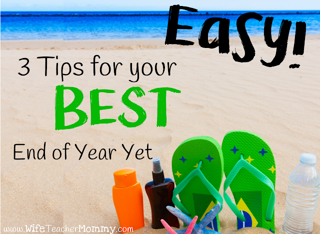 3 Tips for your BEST end of year yet!