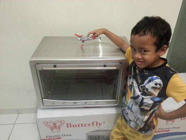Butterfly Electric Oven (B-5243) 43L