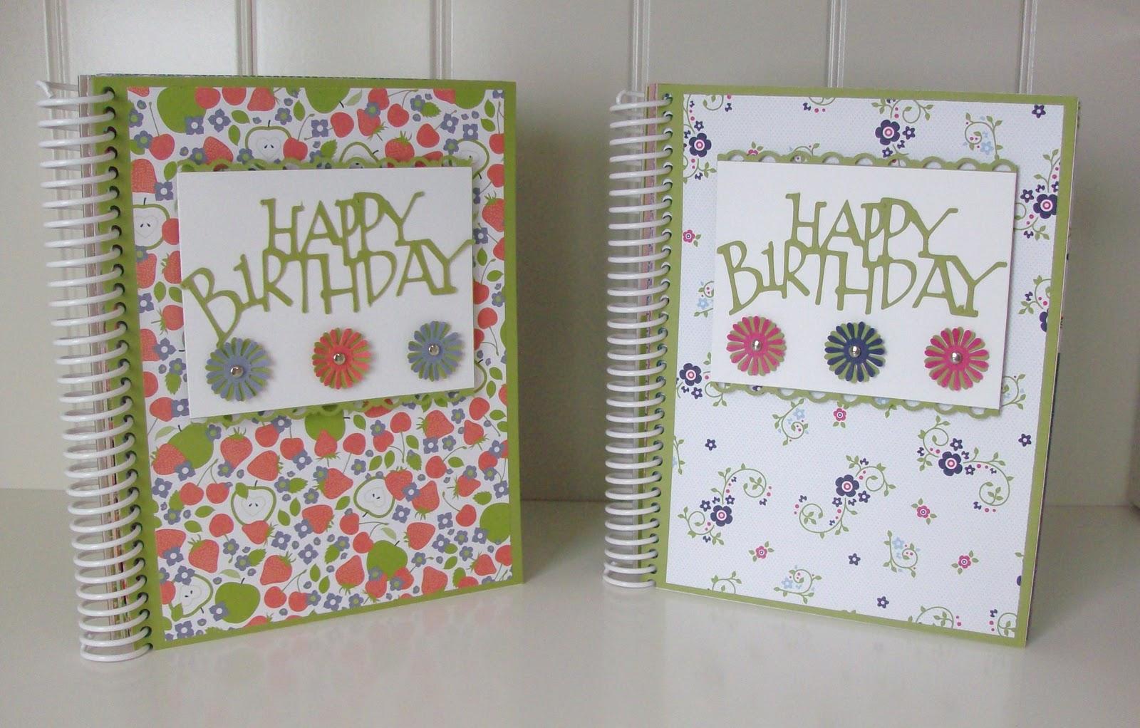 Paper Cuts Birthday Card Organizer