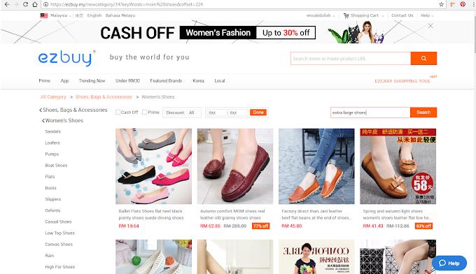Jom Shopping Online Di Ezbuy