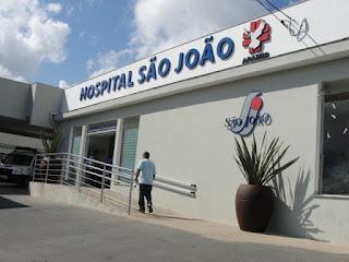 HOSPITAL SÃO JOÃO - (13) 3821-6099 ou 3828-1111