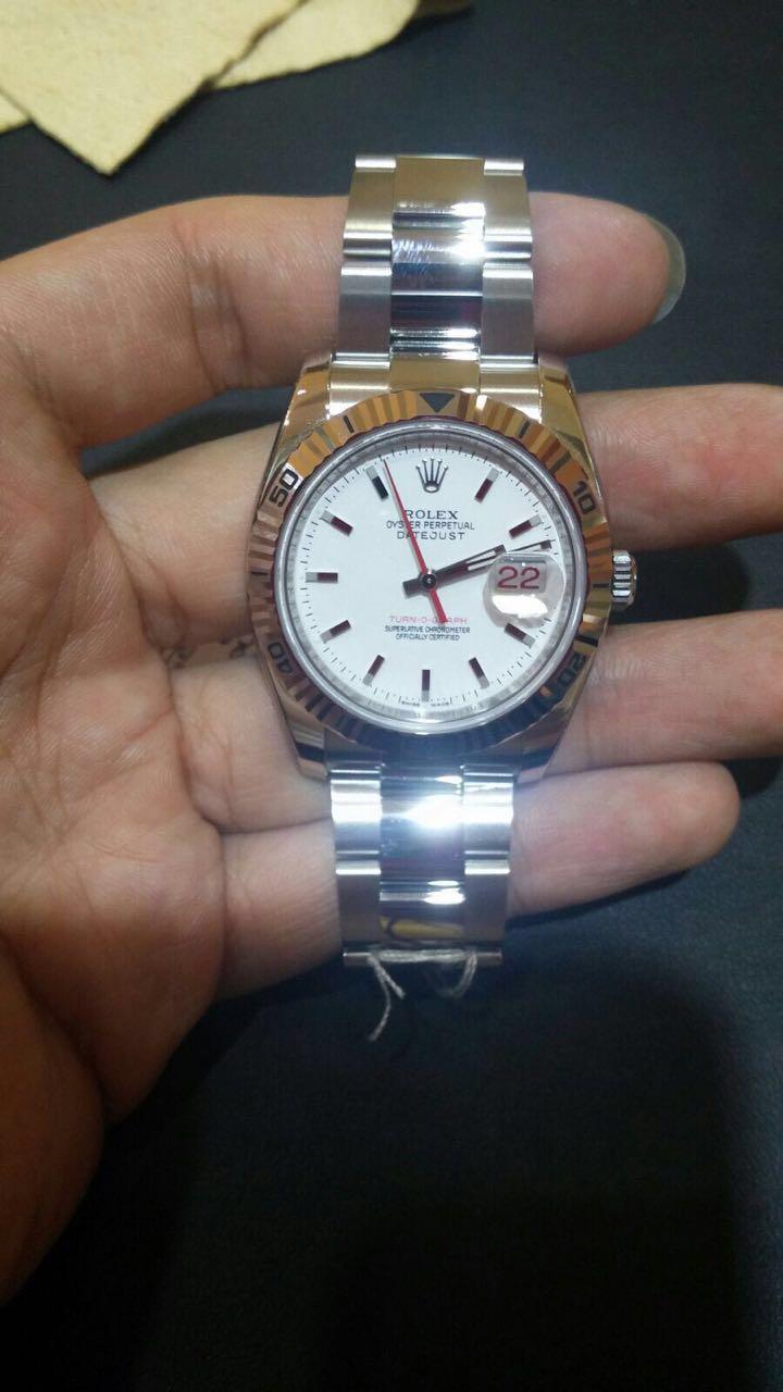 1b57567ee1e Hong Kong Watch Fever 香港勞友  Rolex Turn-O-Graph Stainless Steel ...