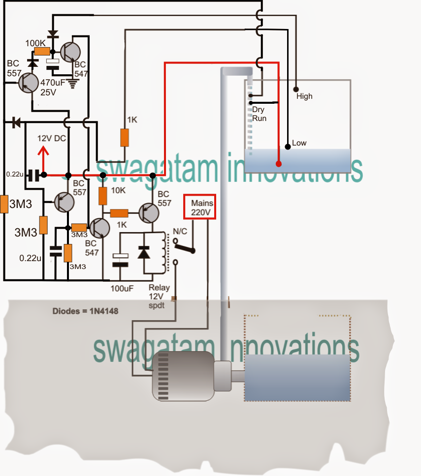 Homemade Water Pump Diagram Wire Data Schema Engine Pto32 Hp Briggs Stratton And Parts List For Snapper Underground Motor Dry Run Protector Without Probes Ford Focus Car