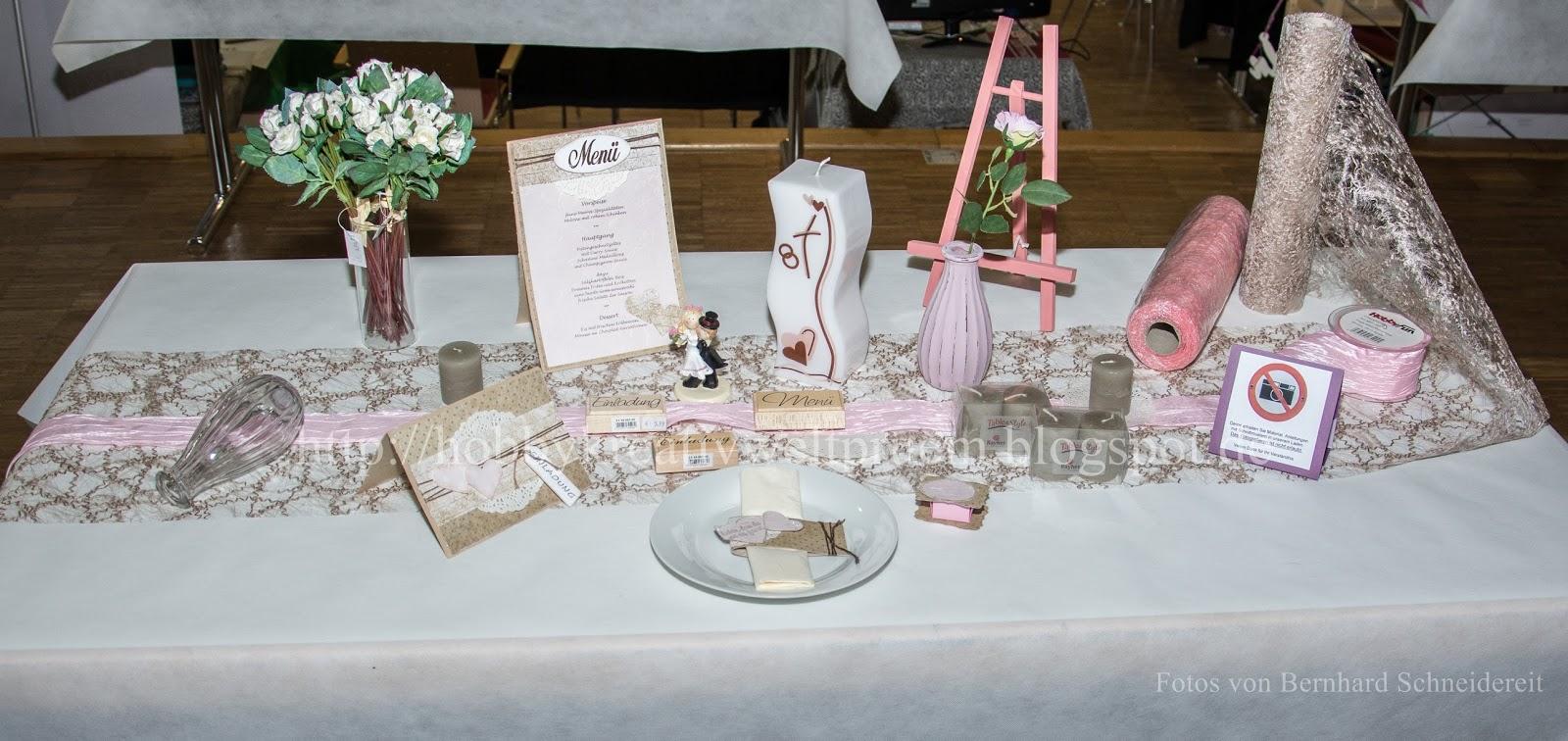 Hobby Kreativ Welt Tischdekoration Hochzeit