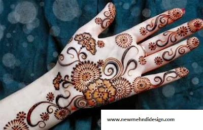 New Stylish Mehndi Designs