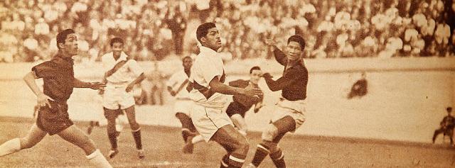 Chile y Perú en Campeonato Panamericano 1952, 2 de abril
